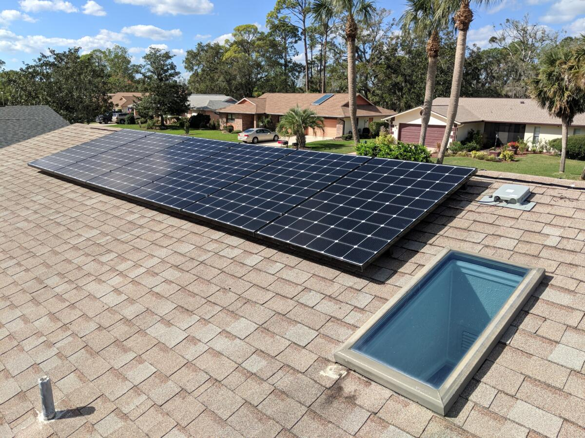 Custom designed solar systems come in many sizes