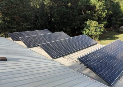 Grid Tie with battery backup in Thompson, GA.