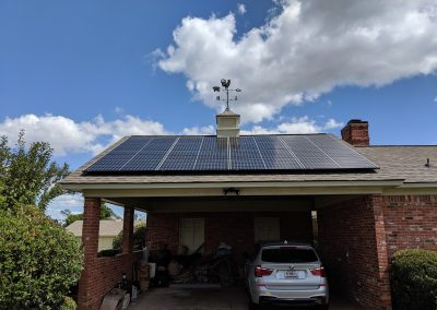 Grid tie system in Albany, Georgia, design for no export to get around the cities cost prohibitive solar charges.