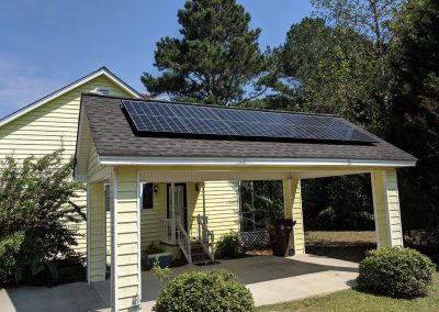 Image 4 - A grid tie system with battery backup made this small home in Moultrie, Georgia NetZero!