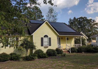 Image 5 - A grid tie system with battery backup made this small home in Moultrie, Georgia NetZero!