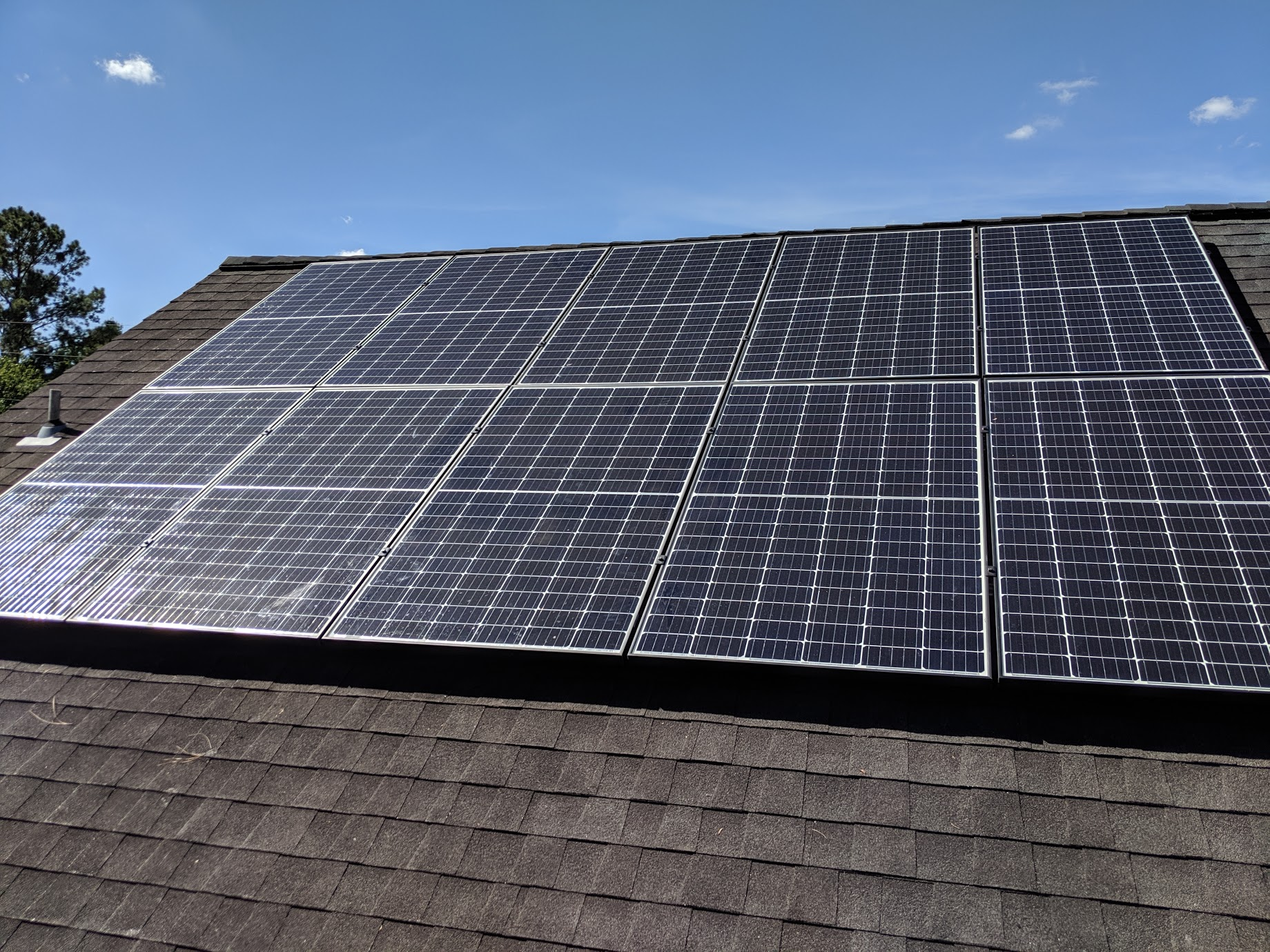 Image 6 - A grid tie system with battery backup made this small home in Moultrie, Georgia NetZero!