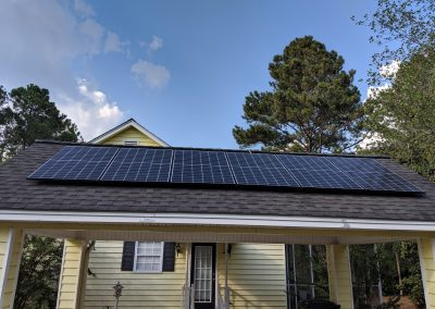 Image 7 - A grid tie system with battery backup made this small home in Moultrie, Georgia NetZero!