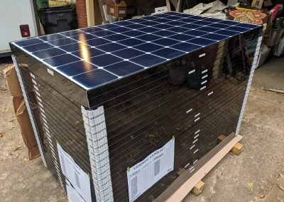 Image 2 - Another grid tie system with battery backup on a home outside of Albany, Georgia.