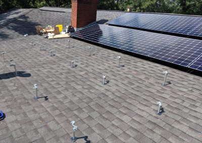 Image 3 - Another grid tie system with battery backup on a home outside of Albany, Georgia.