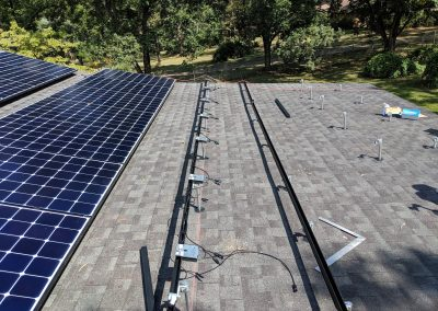 Image 4 - Another grid tie system with battery backup on a home outside of Albany, Georgia.