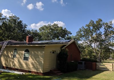 Image 7 - Another grid tie system with battery backup on a home outside of Albany, Georgia.