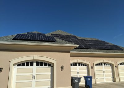 Image 3 - Grid tie solar on this large home in Macon, Georgia.