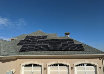 Image 4 - Grid tie solar on this large home in Macon, Georgia.