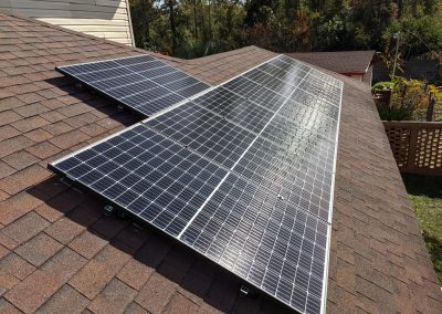 Image 3 - Grid tie and battery backup with a lithium-ion phosphate battery, for this customer in Albany, Georgia.
