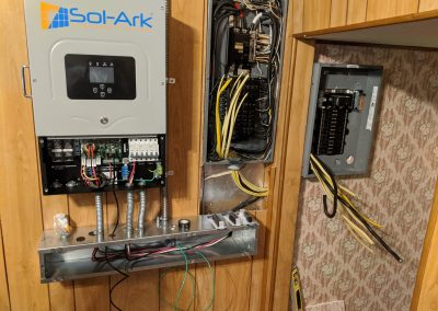 Image 4 - Grid tie and battery backup with a lithium-ion phosphate battery, for this customer in Albany, Georgia.