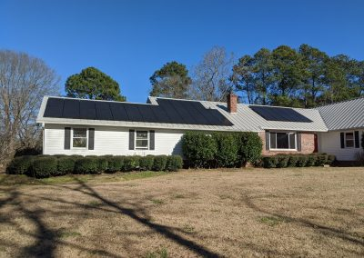 Image 3 - Super clean grid tie system on this home in LaGrange, Georgia.
