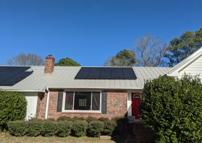 Image 4 - Super clean grid tie system on this home in LaGrange, Georgia.