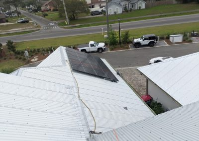 Image 2 - EMP hardened grid tie system with battery backup, on this home in Panama City, Florida.