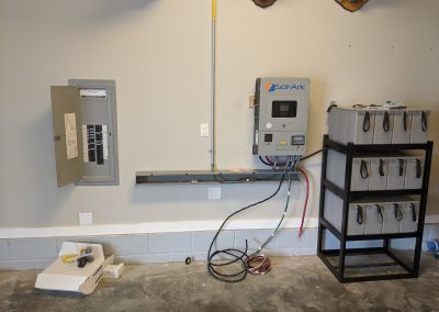 Image 3 - EMP hardened grid tie system with battery backup, on this home in Panama City, Florida.