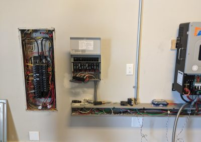 Image 4 - EMP hardened grid tie system with battery backup, on this home in Panama City, Florida.