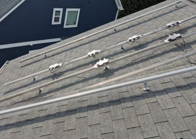 This was a fun roof! Grid tie system in Atlanta, Georgia.