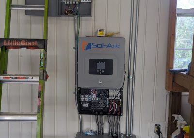 Image 3 - Another large grid tie with battery backup system in Hawkinsville, Georgia.