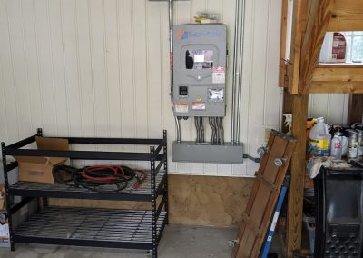 Image 6 - Another large grid tie with battery backup system in Hawkinsville, Georgia.