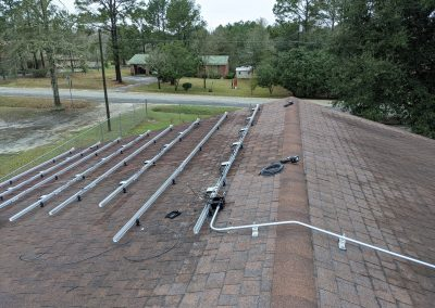Image 3 - Large roof mounted grid tie system in Moultrie, Georgia.